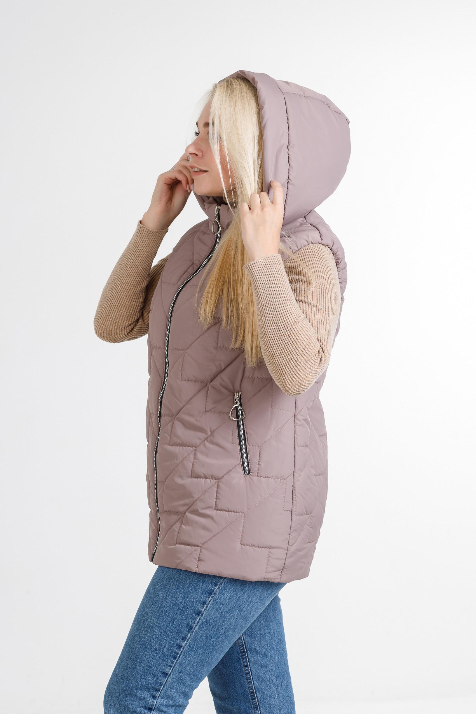 Женская безрукавка Феба розового цвета