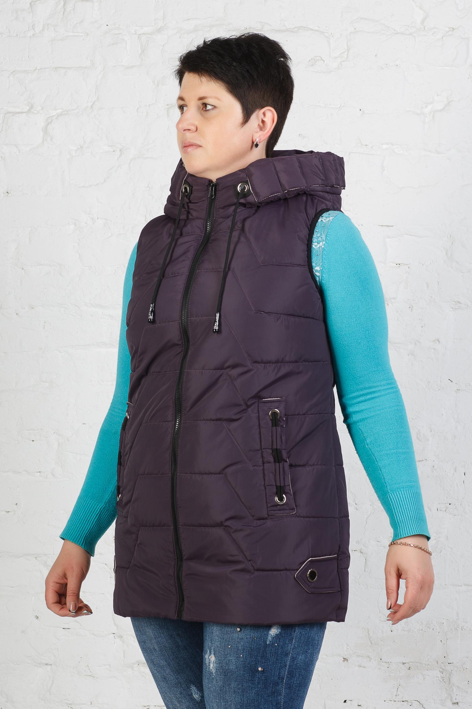 Стильная жилетка Ками фиолет