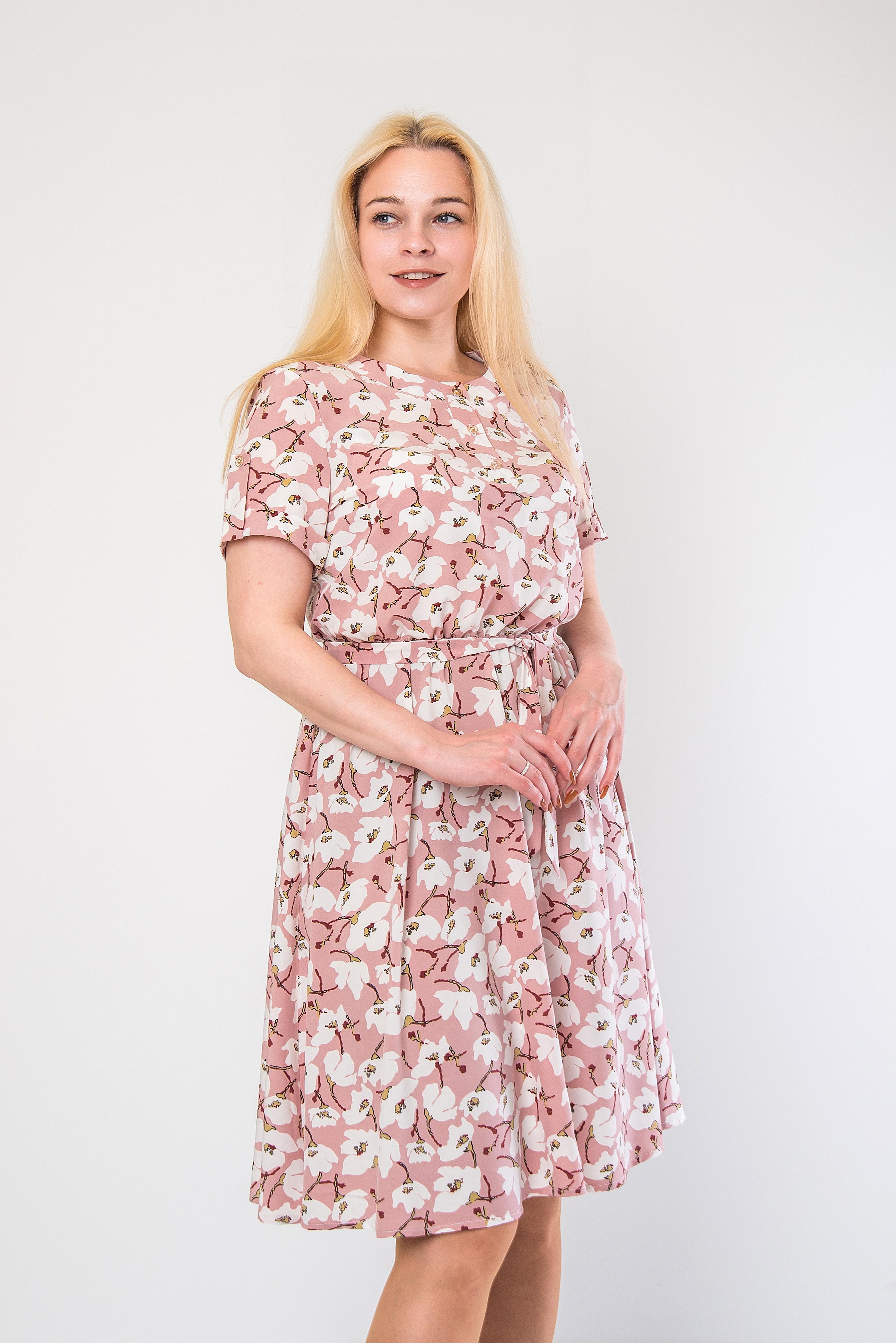 Нежное платье из софта